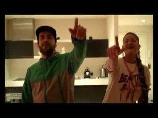 """KITTY KAT feat. CHEFKET - """"JAG IHN HOCH"""" LIVE AUSM HOTEL IN HAMBURG"""