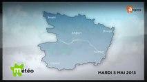 METEO MAI 2015 [S.5] [E.5] - Météo locale - Prévisions du mardi 5 mai 2015