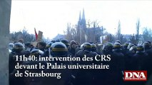 université strasbourg (Incidents devant le Palais universitaire, )