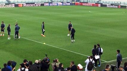 Ecco le immagini dell'allenamento del Real Madrid allo Juventus Stadium