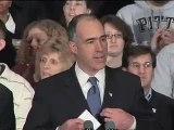 Senator Bob Casey Jr Endorses Obama