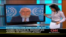 Entrevista al Director-General de la OIT, Juan Somavia, por CNN Español
