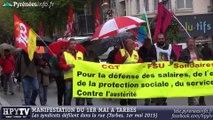 [TARBES] Manifestation du 1er mai à Tarbes (1er mai 2015)