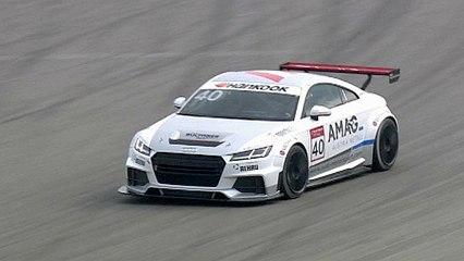 Audi Sport TT Cup startete mit Promis