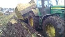 loonbedrijf berkers mais  - vast met aangedreven wagen