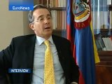 EuroNews - Interview - Alvaro Uribe