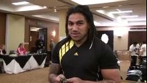 Ma'a Nonu Gets his Gear for Tour