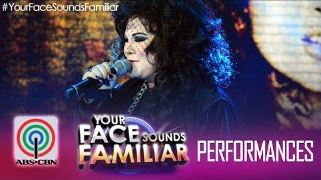 "Your Face Sounds Familiar: Karla Estrada as Ann Wilson of Heart - ""Alone"""