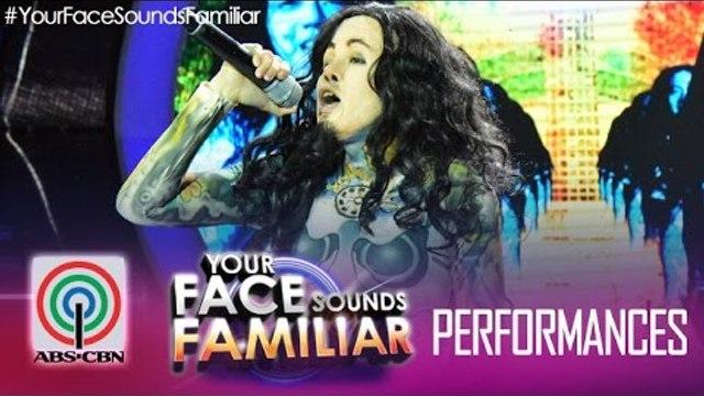 "Your Face Sounds Familiar: Melai Cantiveros as Jay of Kamikazee - ""Narda"""