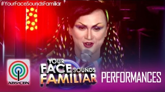 """Your Face Sounds Familiar: Billy Crawford as Boy George - """"Karma Chameleon"""""""
