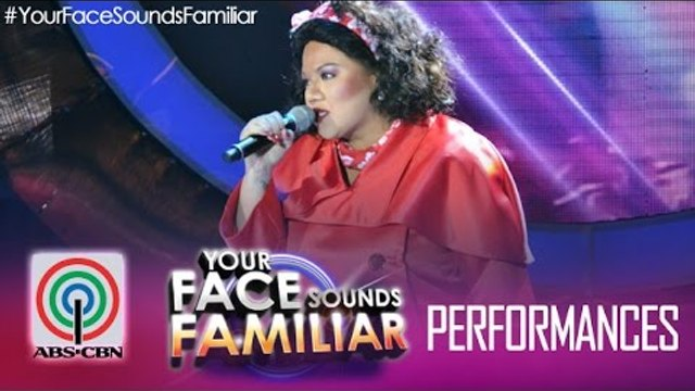 "Your Face Sounds Familiar: Karla Estrada as Dulce - ""Paano"""