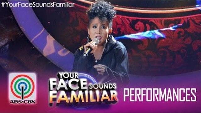 """Your Face Sounds Familiar: Jolina Magdangal as Jaya - """"Dahil Tanging Ikaw"""""""