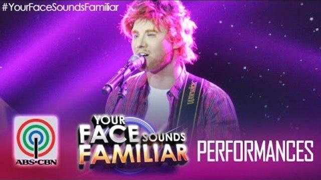"Your Face Sounds Familiar: Edgar Allan Guzman as Ed Sheeran - ""Thinking Out Loud"""