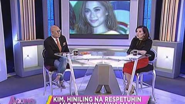 Kim Chiu reacts to Maja Salvador-Gerald Anderson split