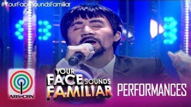 """Your Face Sounds Familiar: Jolina Magdangal as Manny Pacquiao - """"Para Sa'yo Ang Laban Na Ito"""""""
