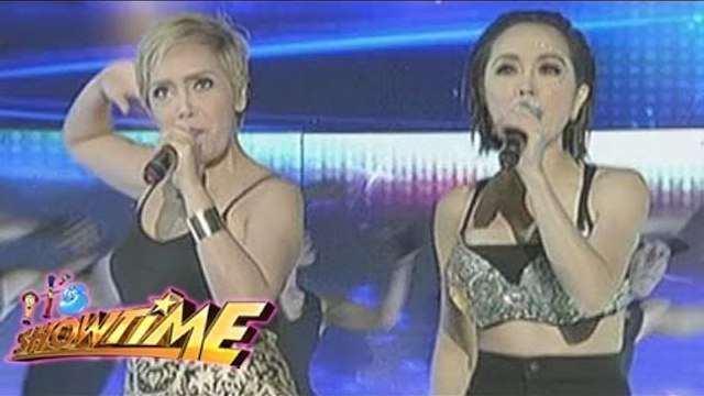 "Kitkat and Cacai perform ""Break Free"" on It's Showtime"