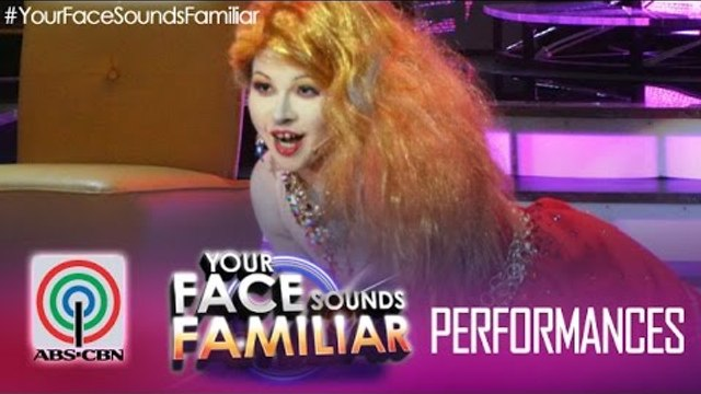 "Your Face Sounds Familiar: Melai Cantiveros as Cyndi Lauper - ""Girls Just Wanna Have Fun"""