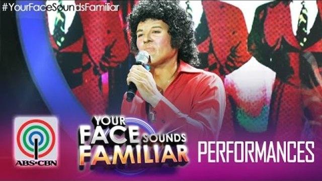 "Your Face Sounds Familiar: Jay R as Tom Jones - ""Sex Bomb"""