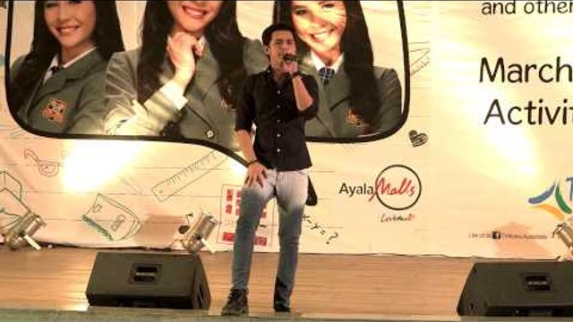 """Marlo Mortel sings """"M.O.O'"""" at the Janella Salvador Fans Day"""