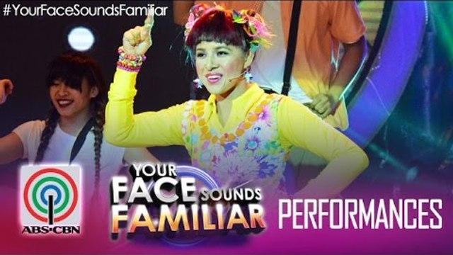 "Your Face Sounds Familiar: Melai Cantiveros as Jolina Magdangal - ""Chuva Choo Choo"""