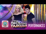 "YFSF Duet: EA & Maxene as John Travolta & Olivia Newton John - ""You're All That I Want"""