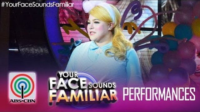 """Your Face Sounds Familiar: Karla Estrada as Meghan Trainor - """"All About That Bass"""""""