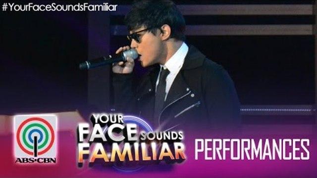 """Your Face Sounds Familiar: Edgar Allan Guzman as Daniel Padilla - """"Nasa Iyo Na Ang Lahat"""""""