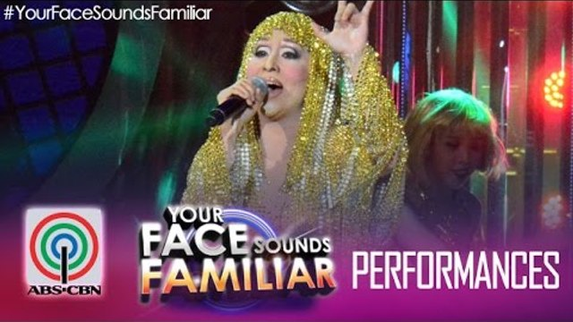 """Your Face Sounds Familiar: Jolina Magdangal as Cher - """"Believe"""""""