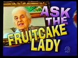 Molly on Jay Leno- September 21, 2004  Fruitcake Lady