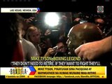 What Tyson wants to tell Pacquiao, Mayweather