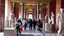 Le Musee Du Louvre in Paris, France