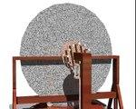 Leonardo da Vinci Inventions - Mirror grinding/polishing machine