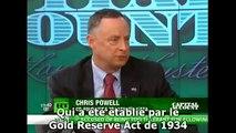 Chris Powell à propos de la manipulation du cours de l'or et de l'argent