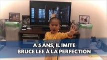 A 5 ans, il imite Bruce Lee à la perfection