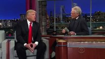 Donald Trump on the Late Show - Donald Trump with David Letterman - Donald Trump Interview