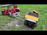 RC DUMP TRUCK K-700 CRASH, RC CRASH, BIG RC CRASH,RC ACCIDENT