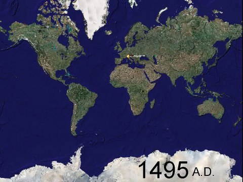 World Battleground, 1000 years of war in 5 minutes