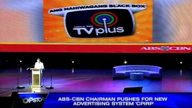 ABS-CBN chairman pushes for new advertising system