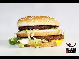 REZEPT: BIG MAC - ANGESCHAUT & NACHGEMACHT - der Big Mac unter der Lupe