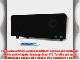 GOgroove BlueSYNC Wireless Bookshelf Speaker and Bluetooth Home Entertainment System with 2.1