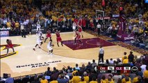 Derrick Rose Appears To Injure Shoulder _ Bulls vs Cavaliers _ Game 1 _ May 4, 2015 _ NBA Playoffs