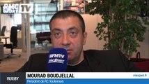 """""""Le football français gagnerait à avoir plusieurs Jean-Michel Aulas"""" Mourad Boudjellal"""