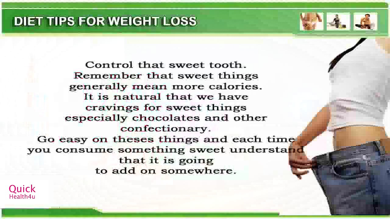 Sweets – Weight Loss Tips – Weight Loss Exercises