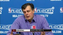 Rockets on Game 1 Loss _ Clippers vs Rockets _ Game 1 _ May 4, 2015 _ NBA Playoffs