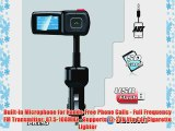 Pyle PBT94 Bluetooth Hands Free FM Radio Transmitter with USB Flash Micro SD Card Readers USB