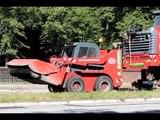 Gehl 6640E Kompaktlader skid steer loader sweeper bobcat wheel loader