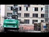 MEGA MACHINE ++ DEMOLITION EXCAVATOR LIEBHERR 954 LONGFRONT HIGH REACH BOOM