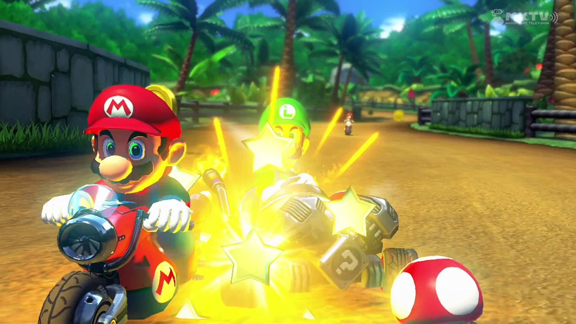 Luigi S Ridin Dirty Death Stare In Mario Kart 8 1080p60