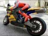 FAST RC MOTORCYCLE CRASH MUST WATCH! RC MOTORRAD CRASH! RC MOTORCYCLE CRASH