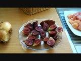 Tajine de poulet aux figues et amandes - Les recettes de Sergio -